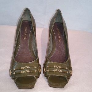 Aerosoles Olive Peep Toe Heels
